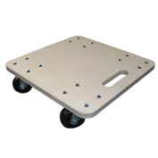 "Fairbanks Heavy-Duty Hardwood Dolly PT-15-1616-3PH - 16"" x 16"" - 1000 Lb. Capacity"