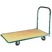 "Fairbanks Platform Truck V-035-Q-2448-PH-411-24 - Cross-Braced Handle - 24"" x 48"" - 1400 Lb. Cap."