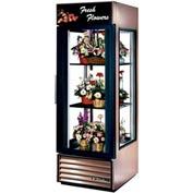 "True® G4SM-23FC Floral Merchandiser 1 Section - 27-1/2""W X 32-1/2""D X 78.63""H"