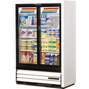 "True® GDM-33SSL-54 Convenience Store Cooler 2 Section - 36""W X 18""D X 54-1/8""H"