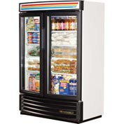 True® GDM-35SL-RF-LD Reach In Refrigerator 35 Cu. Ft. White Laminated Vinyl