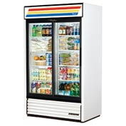 "True® GDM-41 Refrigerated Merchandiser - 47-1/8""W x 29-5/8""D x 78-5/8""H"