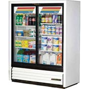"True® GDM-41SL-60 Convenience Store Cooler 2 Section - 47-1/8""W X 21""D X 59-7/8""H"