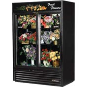 "True® GDM-47FC Floral Merchandiser 2 Section - 54-1/8""W X 29-5/8""D X 78-5/8""H"