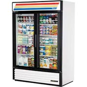 "True® GDM-49-LD Refrigerated Merchandiser 2 Section - 54-1/8""W X 29-7/8""D X 78-5/8""H"