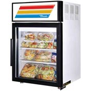 "True® GDM-5 Countertop Refrigerated Merchandiser, Lam. Vinyl - 24""W X 23-1/2""D"