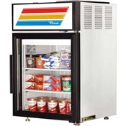"True GDM-05-LD - Countertop Freezer Merchandiser, 1 Section, 5.5 Cu. Ft., 24""W x 23-1/2""D x 37-5/8""H"
