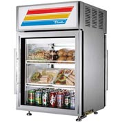 "True® GDM-5PT-S Countertop Pass-Thru Refrigerated Merchandiser, Ss - 24""W X 23-7/8""D"