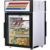 "True® GDM-5PT Countertop Pass-Thru Refrigerated Merchandiser Lam Vinyl 24""W X 23-7/8""D"