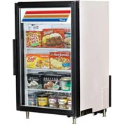 "True GDM-07F-LD - Countertop Freezer Merchandiser, 1 Section, 7 Cu. Ft., 24""W x 24-3/4""D x 39-3/4""H"