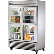 True® T-49G-4 Reach In Refrigerator 49 Cu. Ft. Stainless Steel