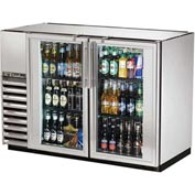 "True® TBB-24GAL-48G-S Back Bar Cooler 2 Section - 47-7/8""W X 24-1/4""D X 34-1/4""H"