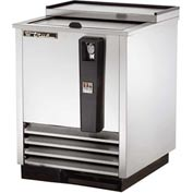 """True TD-24-7-S Bottle Cooler Flat Top 24-3/4""""W X 26-5/8""""D X 33-3/8""""H by Bottle Coolers"""