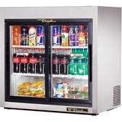 "True® TSD-9G-LD -  Countertop Refrigerated Merchandiser 8.2 Cu Ft, 36""W x 21""D x 35-1/8""H"