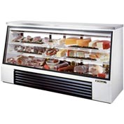 "True® TSID-96-3 Single Duty Deli Case See-Thru - 96-1/2""W X 29-1/4""D X 50-1/4""H"