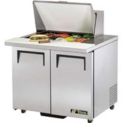 "True® TSSU-36-12M-BADA Mega Top Sandwich/Salad Unit - 36-3/8""W X 34-1/8""D X 40-3/8""H"