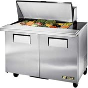 True TSSU-48-18M-B Mega Top Sandwich/Salad Unit 48-3/8