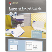 "Maco® UnRule Index Cards ML8576, 3"" x 5"", White, 150/Box"