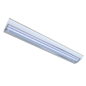 Straits Lighting 13071475 LED Ready Suspended Streamline T8 Fixture - Unlamped, G13 sockets