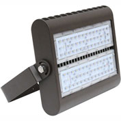 Straits 30180095 LED Flood Light, 80W, 8590 Lumens, 5000K, Bronze