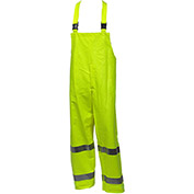 Tingley® Eclipse™ Class E FR Overall, Snap Fly Front, Fluorescent Yellow/Green, 4XL