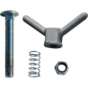Tie Down Engineering Replacement Carriage Bolt, Spring & Wing Nut Assembly for 48680