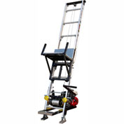 TranzSporter TP250 28 Ft. Platform Hoist W/ Electric Engine 250 Lb. Capacity - 60042
