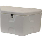 "RomoTech Outdoor Dock Storage Box 82119569 - Small 32""L x 15""W x 14""H, White"