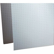"Triton 018-Kit (2) 22"" W x 18"" H x 1/8"" D White Poly Pegboards W/ 22 pc. DuraHook Set"