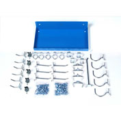 DuraHook™ Shelf Kit, 76126-36, Deep Blue, 36 Hooks