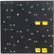"Triton DB-2BK Kit (2) 24"" W x 48"" H x 3/16"" D Black PolyPegboards W/ 48 pc. DuraHook Set"