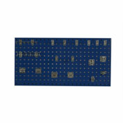 Triton LB18-1BH-Kit (1) 18 ga Blue Steel Square Hole Pegboard W/ (18 pc) LocHook Set