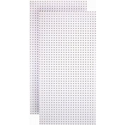 Triton Products, TPB-2W, Pegboard Back Panel, Blissful White, 48 Inch X 24 Inch