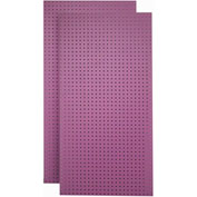 Triton Products, TPB-2WO, Pegboard Back Panel, Wild Orchid, 48 Inch X 24 Inch