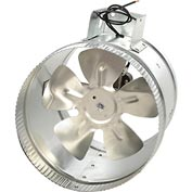 Tjernlund EF-8 - Duct Booster Fan For 8 Inch Flex or Metal Duct (325 CFM)