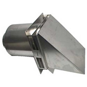 Tjernlund VH1-8 - 8 inch Hood for Side Wall Vent Terminations