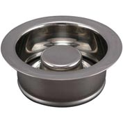 Keeney K5417, Garbage Disposal Replacement Flange & Stopper, Polished Chrome Package Count 6