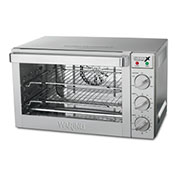 Waring WCO500X Convection Oven Half Size 3 Racks Drip Tray by Drip Trays