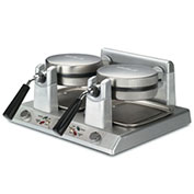 Waring WW250 Commercial Belgian Waffle Maker, Double 120V