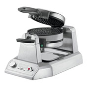 Waring WWD200 Double Waffle Maker, Commercial, 120V