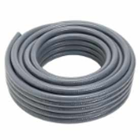 "Carlon® Carflex® Liquidtight Fitting, 15005-100, Conduit, 1/2"" 100' Coil, Gray - Pkg Qty 100"