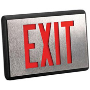 Emergi-Lite DX2R-N Die-Cast Aluminum Exit Sign - (Ac-Only Double Face)