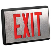 Emergi-Lite DXN1R-N Die-Cast Aluminum Exit Sign - Self Powered Single Face