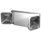 Emergi-Lite EL-2SQR Escort Emergency Light - 6V Square Heads W/11W Remote Capacity White