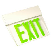 Emergi-Lite TAPEN1GC Single-Face Economy Edge-Lit Exit Sign - Self Powered Green