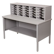 Marvel® - 25 Slot Literature Organizer - Slate Gray