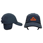 Techniche 5525 Thermafur Air Activated Heating Fleece Baseball Cap With Ear Flaps & Warmers