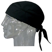 Techniche 6536 Hyperkewl™ Evaporative Cooling Skull Cap, Black