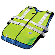 Techniche 6626 Techkewl™ Phase Change Cooling Vest, Class 2, L/XL, Hi-Viz