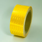 "Super Brite Reflective Tape, Yellow, 2""W x 30'L Roll, HRT230YL"